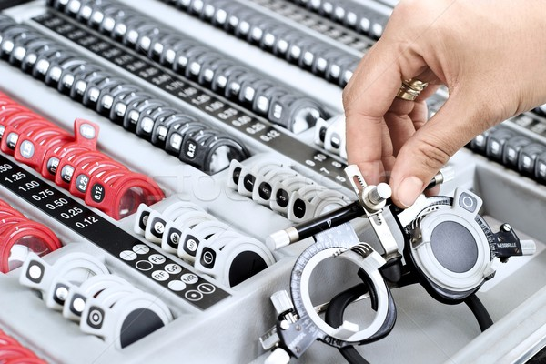 оптик набор важный инструментом глаза врач Сток-фото © nyul