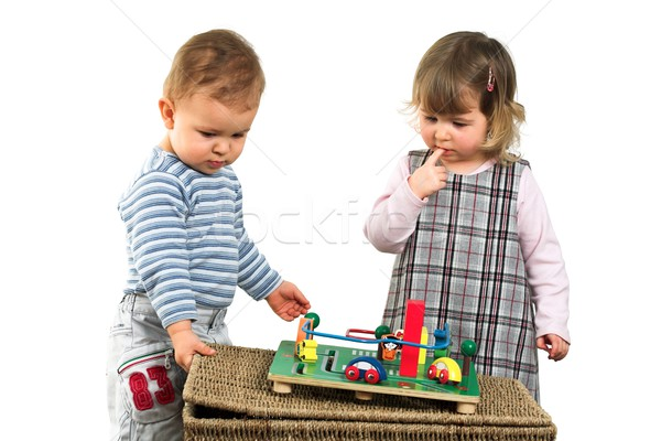 Children play together Stock photo © nyul