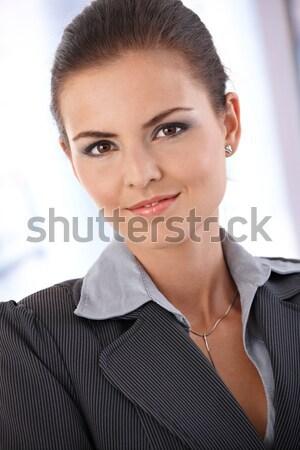 Portrait of trendy ginger woman Stock photo © nyul