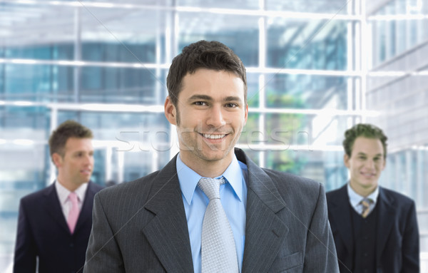 Stock photo: Happy businessman