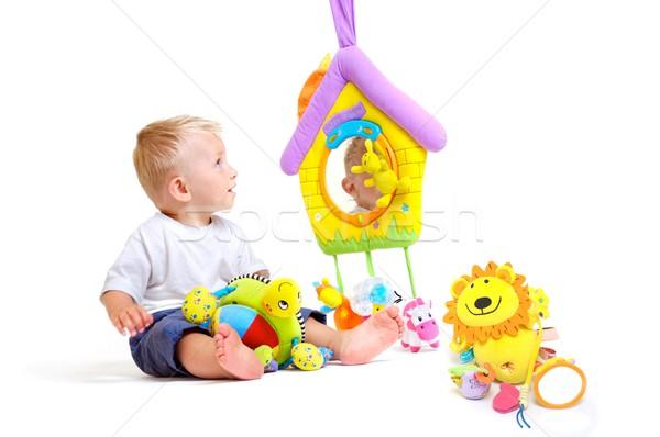 Bebé juguetes nino jugando Foto stock © nyul