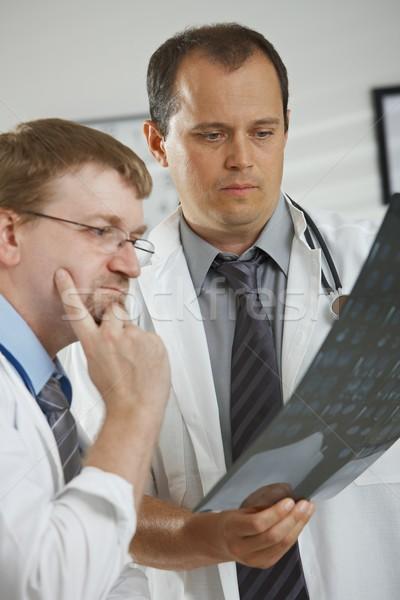 врачи диагностика медицинской служба мужчины Сток-фото © nyul