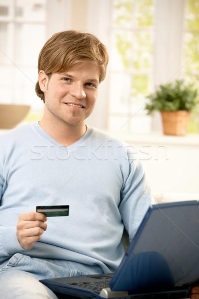 Man paying online Stock photo © nyul