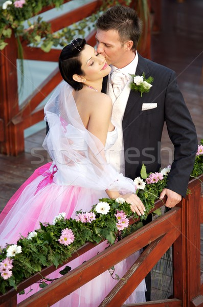 Wedding Couple Stock photo © nyul