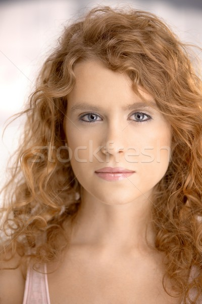 Portrait of attractive young female Stock photo © nyul