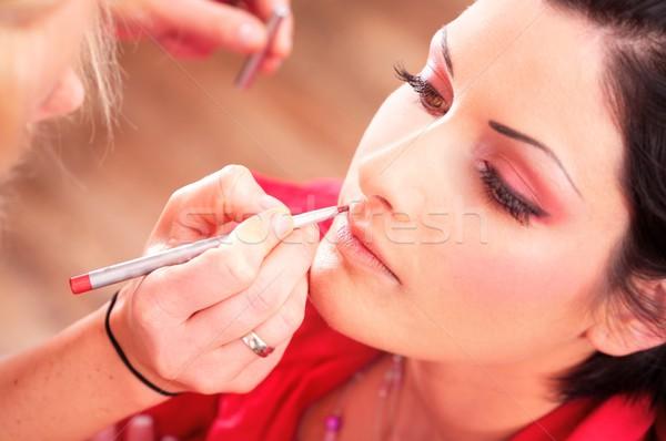 Make jonge vrouwen schoonheid vrouwen Stockfoto © nyul