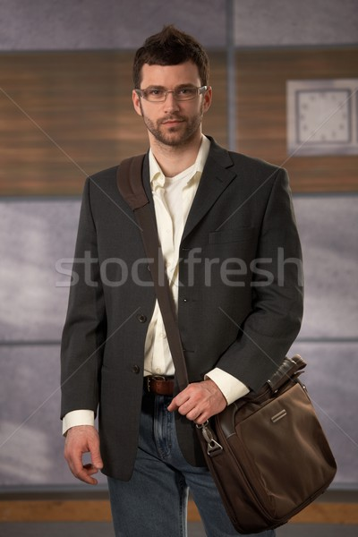 Stock photo: Portrait of young professional