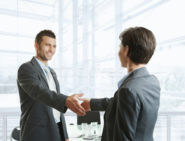 Business greeting Stock photo © nyul