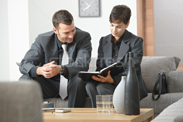 Businesspeople meeting at office Stock photo © nyul