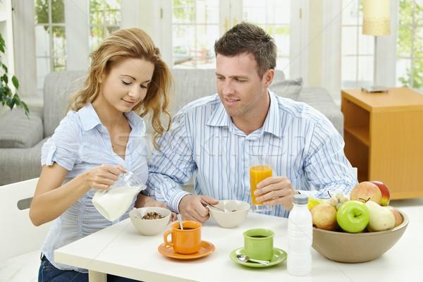 Breakfast at home Stock photo © nyul