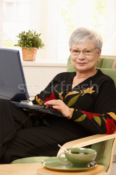 Stock photo: Portrait of modern pensioner