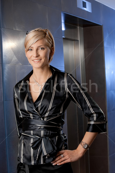 Portrait of businesswoman Stock photo © nyul