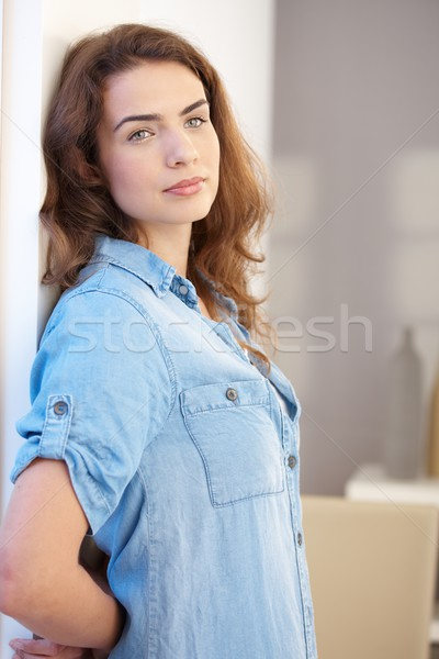 Young woman daydreaming Stock photo © nyul