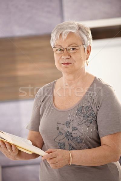 Altos maestro libro de texto retrato pie Foto stock © nyul