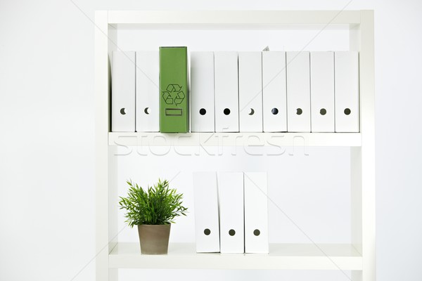 Environmental conservation in office Stock photo © nyul