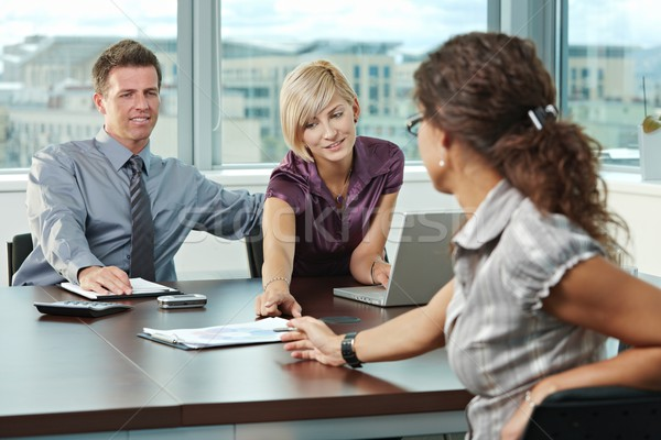 Business people planning Stock photo © nyul