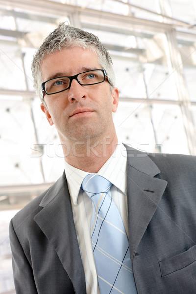 Portrait of businessman Stock photo © nyul