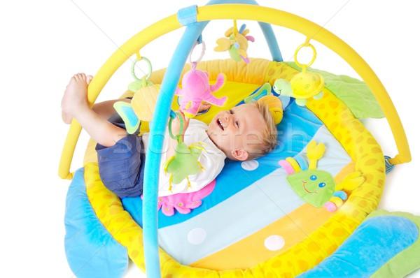 Baby speelgoed jongen spelen Stockfoto © nyul