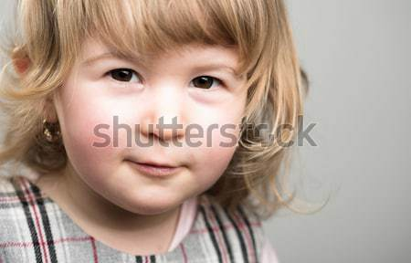 Bleak smile Stock photo © nyul