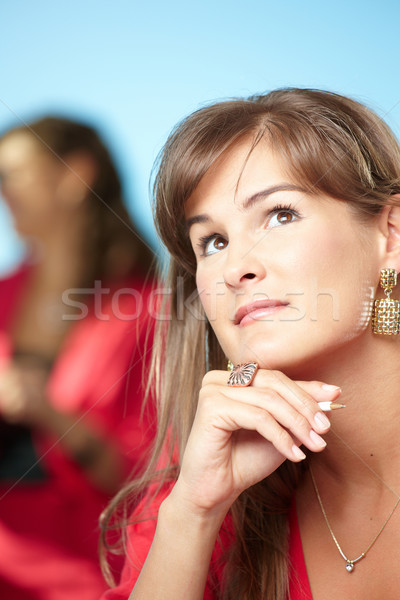 Daydreaming businesswoman  Stock photo © nyul