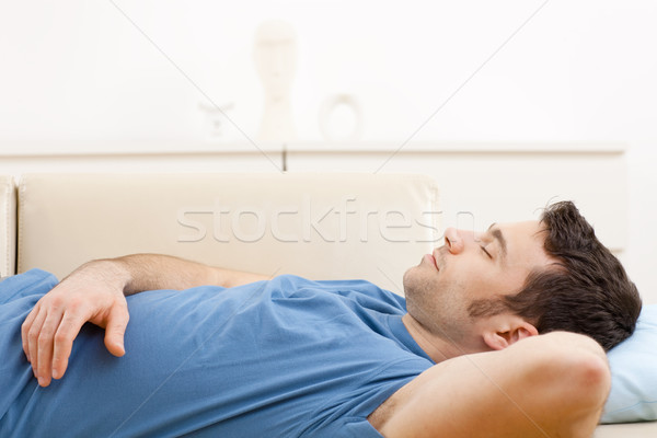 Sleeping man Stock photo © nyul
