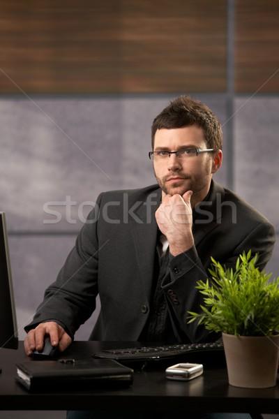Stock photo: Businessman portrait