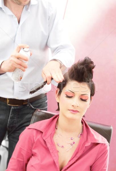 Hairstyle salon Stock photo © nyul