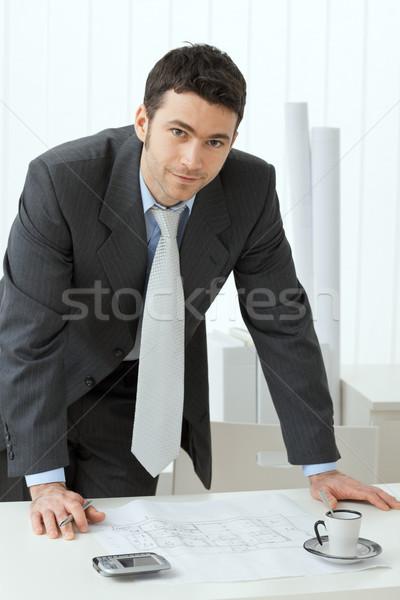 Architect working Stock photo © nyul
