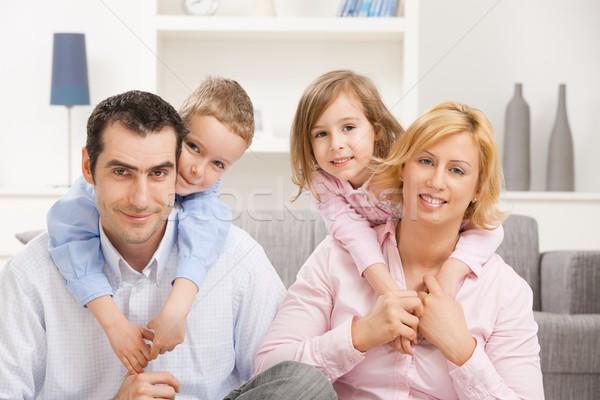 Family at home Stock photo © nyul