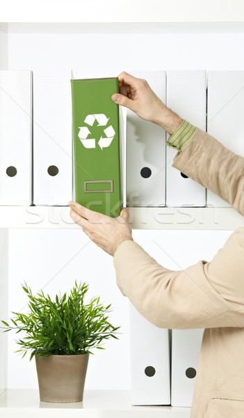 環境の 保全 画像 ビジネスマン 緑 ストックフォト © nyul