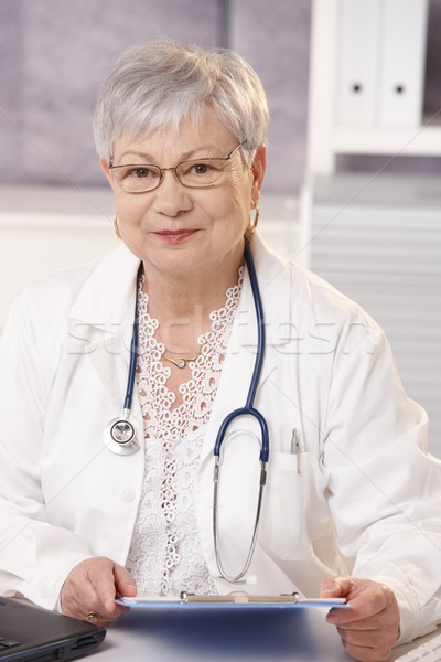 Stock photo: Doctor in office