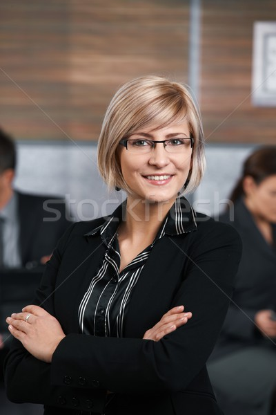 Confident businesswoman Stock photo © nyul