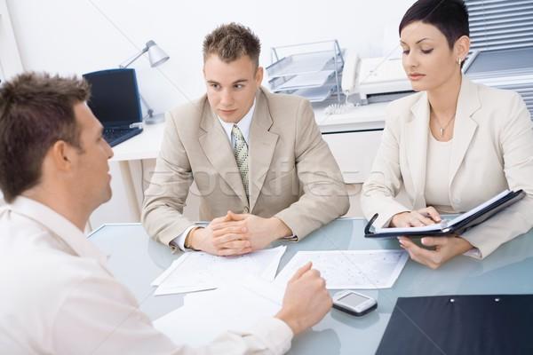 Job interview Stock photo © nyul
