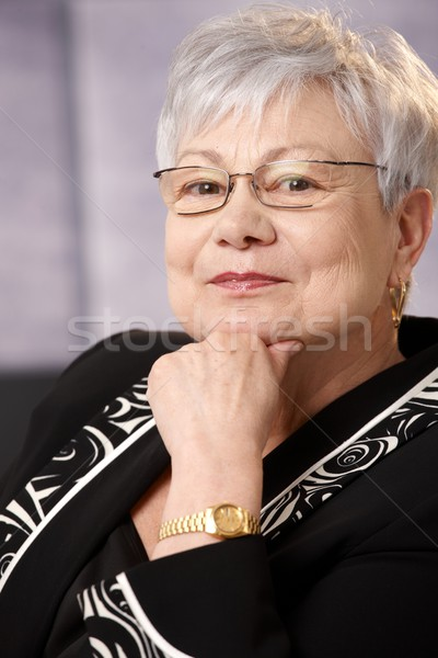 Portrait of senior businesswoman Stock photo © nyul