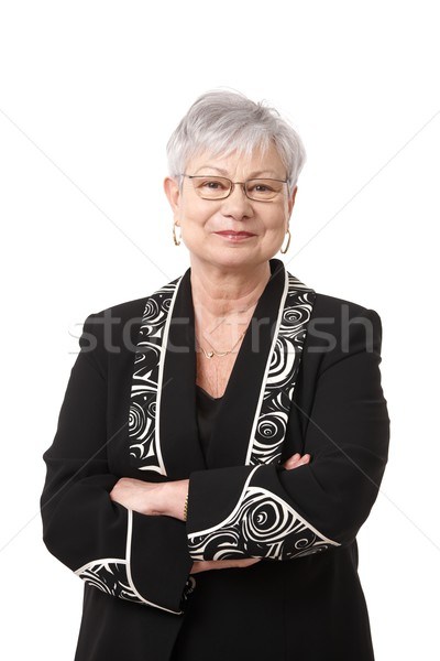Portrait of active senior woman Stock photo © nyul