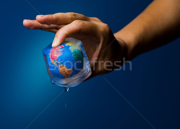 Green - Global warming Stock photo © nyul