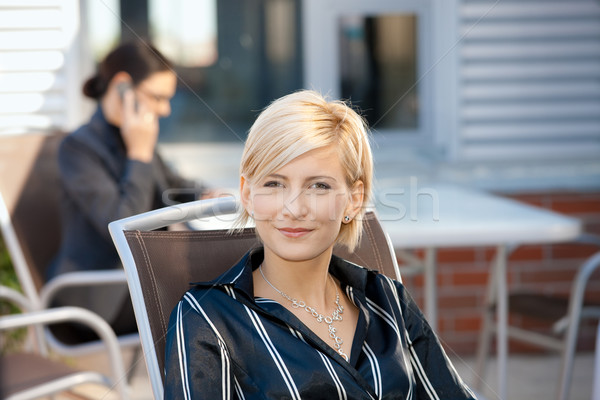 Stock photo: Portrait of businesswoman