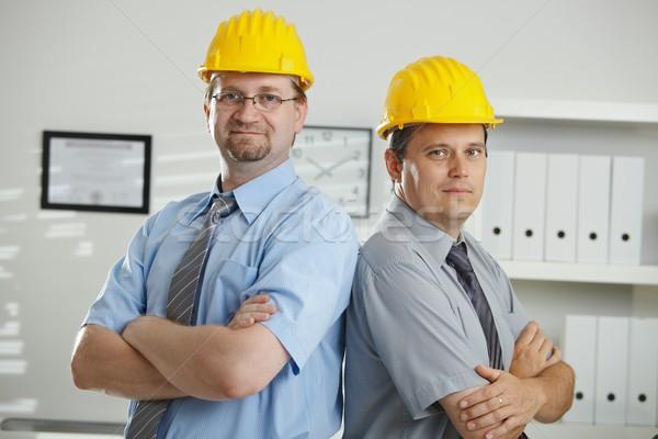 Portrait of engineers Stock photo © nyul