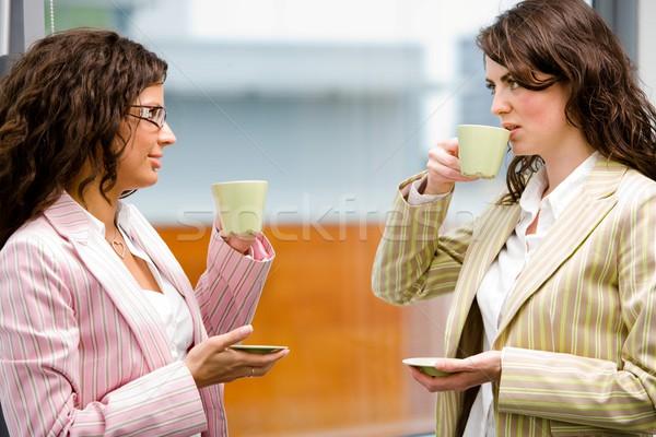 ビジネス 友情 小さな 実業 ブレーク オフィス ストックフォト © nyul