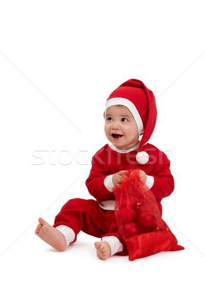 Feliz pequeño nino traje Foto stock © nyul