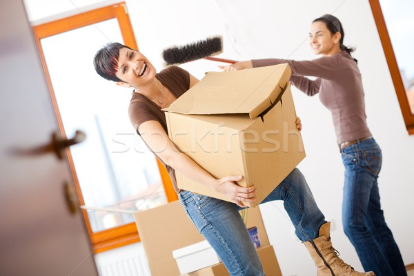 Moving home Stock photo © nyul
