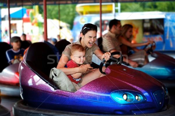 Amusement park Stock photo © nyul