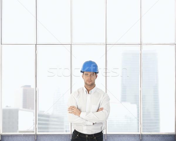 Portrait of architect designer Stock photo © nyul