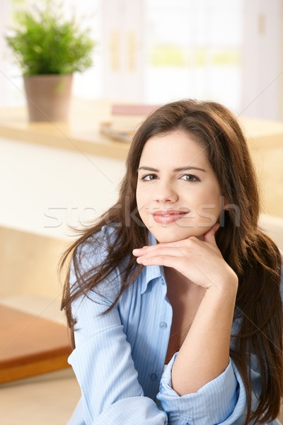 Stock photo: Portrait of young woman