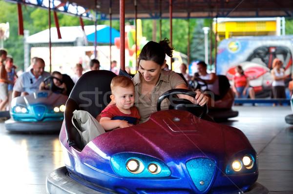 Driving Dodgem Stock photo © nyul