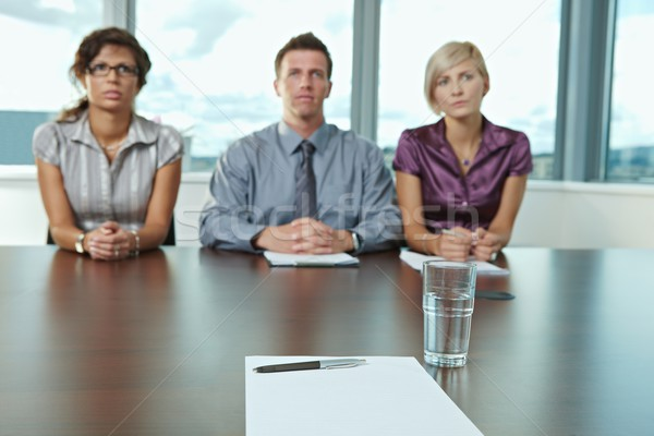 Job interview Stock photo © nyul