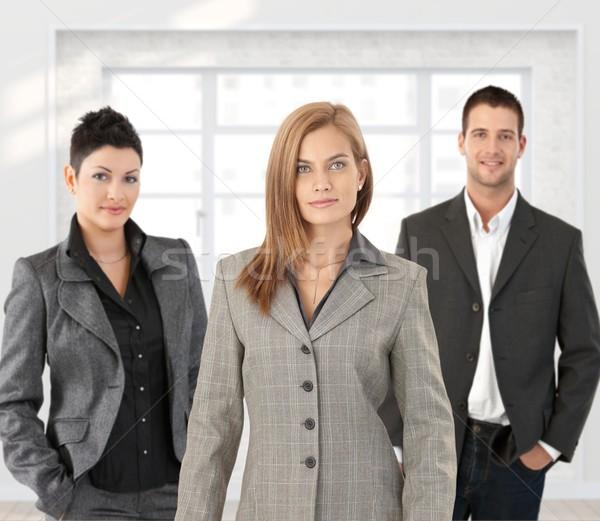 Business team posing Stock photo © nyul