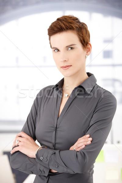 Portrait of smart woman Stock photo © nyul