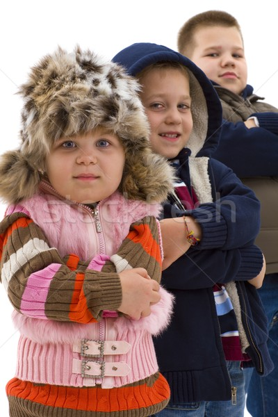 Cute children Stock photo © nyul
