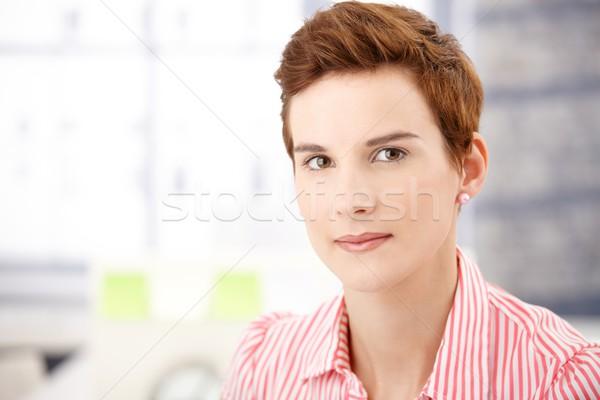 Hip ginger woman Stock photo © nyul